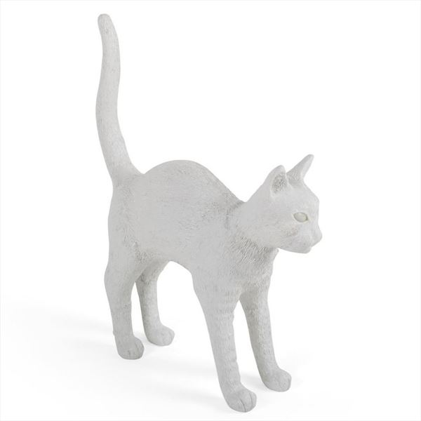 "Lámpara ""Jobby The Cat"" - Blanco (1)"