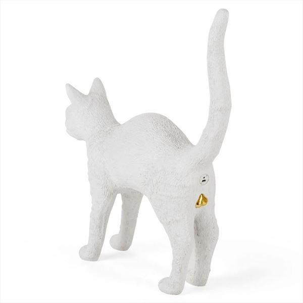 "Lámpara ""Jobby The Cat"" - Blanco (3)"