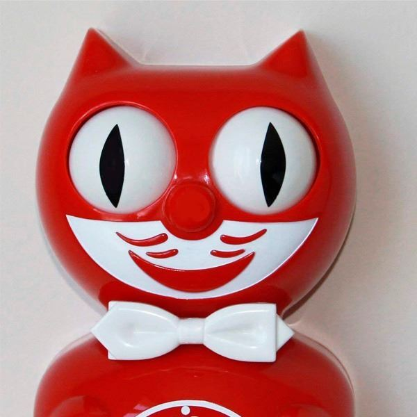 Reloj Kit-Cat Rojo (3)
