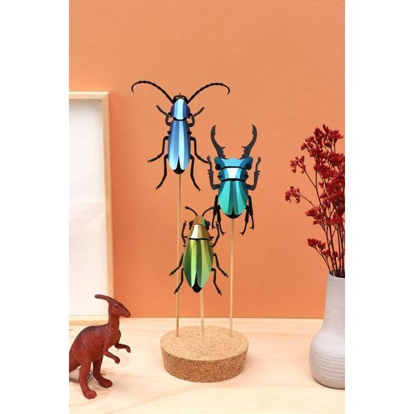 Stag Beetle Small Verde (2)
