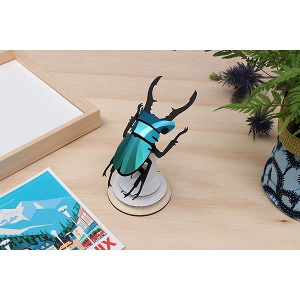 Stag Beetle Small Verde (4)