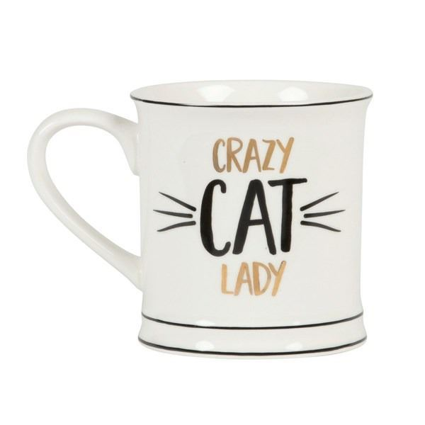 TAZA CRAZY CAT
