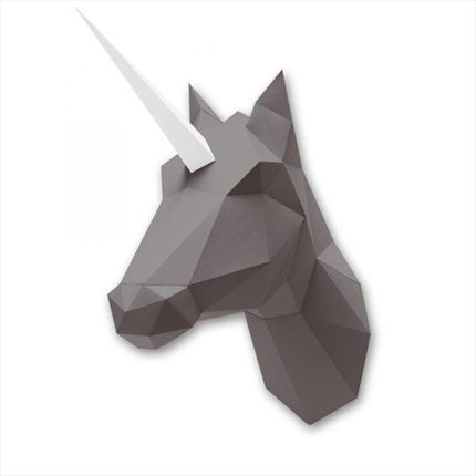 Unicornio Papel Marron Assembli